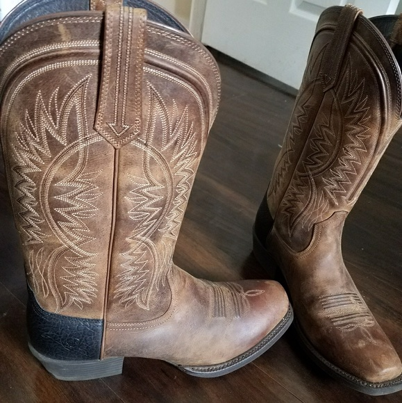 869fcd71134 Ariat Troubadour Leather Boots